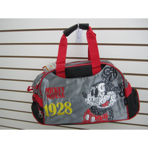 Maleta Deportiva Gym Deportes Minnie / Mickey Mouse Ruz