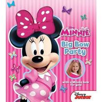 Mickey Mouse Clubhouse: Big Partido Arco Libro De Minnie