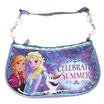 Disney Niñas Congelado Con Cuentas Bolso Celebre Verano Mult