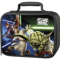 Termos Soft Lunch Star Wars - Kit Guerras Clon