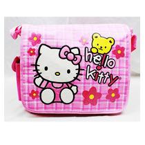 Bolsa De Viaje Hello Kitty Oso De Peluche W / School Book Fl