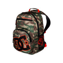 Mochila Backpack Detention M Bkpk Cafe/verde Gsh6 Dc Shoes