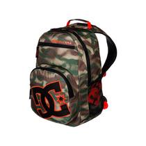 Mochila Backpack Detention M Bkpk Cafe/verde Gsh6 Dc Shoes