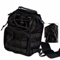 M48 Gear Tactical Military Bag Black (entrega 3 - 4 Semanas)