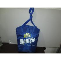 Hielera De Bolsa Montejo + Gorra Con Destapador