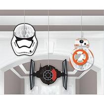 Star Wars Ep Vii Honeycomb Decoración