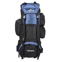 Mochila Teton Deportes Explorer4000 Azul - Negro