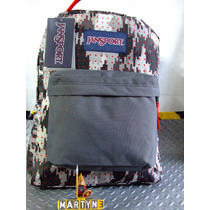 Mochiila Jansport Black Label High Risk Red Camo Dots
