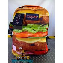 Mochiila Jansport Hihg Stakes Hamburger Printed Importada