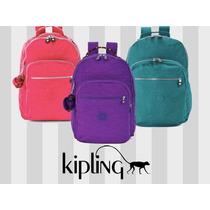 Mochila Backpack Kipling Seoul Con Proteccion Para Laptop