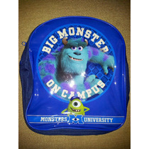 Monsters University Lonchera Mochila Para Guardería,kinder.