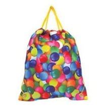 Mochila Iscream / Candy Print Drawstring Backpack [airheads]
