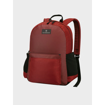 Victorinox Mochila Back Pack Laptop, Color Rojo Con Negro
