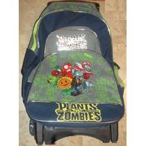 Mochila Plantas Zombies Monster Minion Car Con Carrito