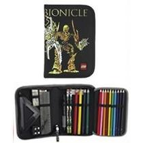 Estuche Escolar Lego Original Bionicle Mata Nui