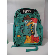 Mochila Perry El Ornitorrinco Disney 100% Original