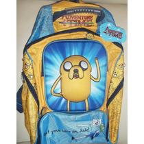 Backpack Mochila Adventure Time Hora De Aventura 3d
