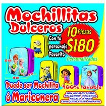 Mochilas Dulceros Minions Para Cumpleaños