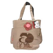 Bolsa Mafalda Escolar Resistente Original Chenson Quino