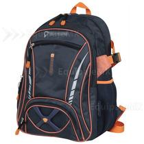 Mochilas Back Pack Escolar Paseo Acojinadas 3 Colores Unisex