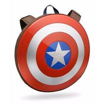 Marvel Avengers Mochila Escudo Capitan America 100% Oficial