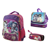Kit Mochila, Lonchera Y Lapicera Ever After High