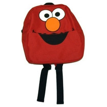 Mochila Sesame Street Elmo Cara Cartoon Tv Show Mini Mochila