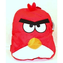 Mochila Angry Birds Red Plush Blackpack 14