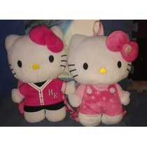 Mochila Peluche Hello Kitty