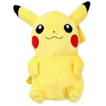Mochila Pokemon Mochila Felpa Pikachu Muñeca Mochila