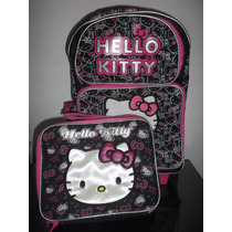 Kitty En Mochila Con Llantitas Y Lonchera $990.00 Mn4