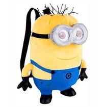 Mochila Minions Felpa Amarillo