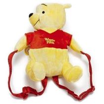 Mochila Winnie The Pooh De Felpa