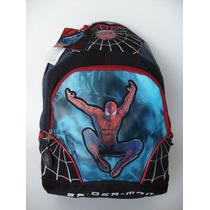 Mochila Escolar Niños Primaria Spiderman, Economica , Mod2