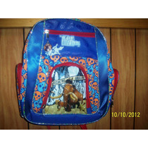 Mochila Backpack Kinder Ruz Era Del Hielo Escolar No Subasta