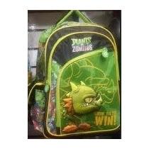 Backpack Mochila Plantas Contra Zombies 3d