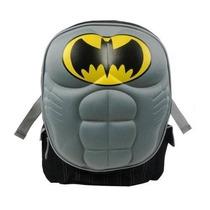 Mochila Dc Comics Batman Gris