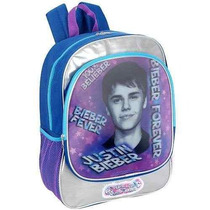 Mochila Justin Bieber 16 Pulgadas Bieber Siempre Mochila - A