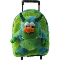Mochila Niños Green Monster