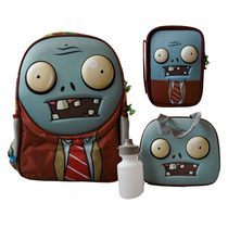 Paquete Escolar Plantas Vs Zombies Modelo Zombie En 3d