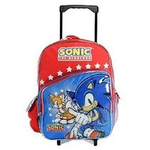 Mochila Sega Sonic The Hedgehog Grande Del Balanceo Del Rodi