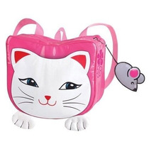 Mochila Kidorable Lucky Cat Backpack, Pink, One Size