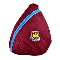 West Ham Mochila - Fc Football Club Ergo Claret Y Azul