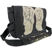 Mochila Messenger Daryl Wings Messenger Bag The Walking Dead