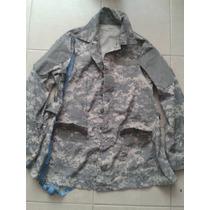 Camisola Acu Digital Gris Us Army Autentico Dama Unica