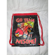 Morral Mochila Angry Birds 100% Original