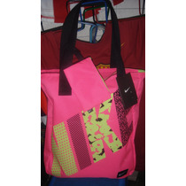 Bolsa Mochila Nike 100% Originales De Mujer Escolar Rosa