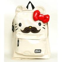 Hello Kitty Mochila Backpack Mustache Loungefly Sanrio Envio