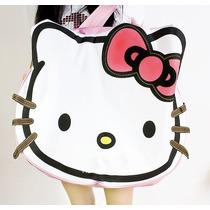 Bolsa/mochila/maleta/pañalera Hello Kitty Blanca Sanrio Cara
