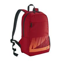 Mochila Nike 100% Originales Escolar O Gimnasio Rojo/naranja